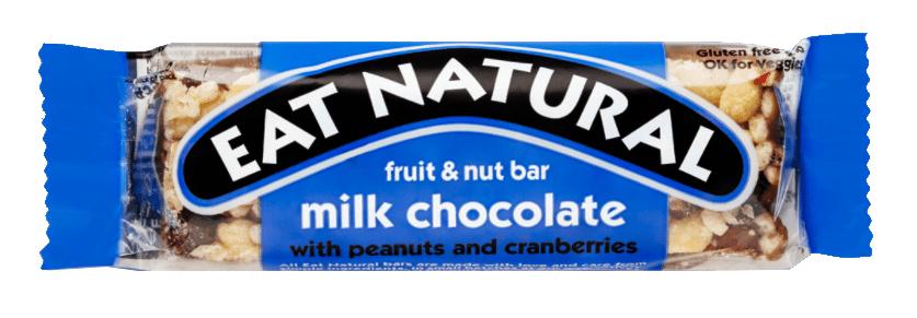 Eat Natural | Milk Chocolate | 12 repen