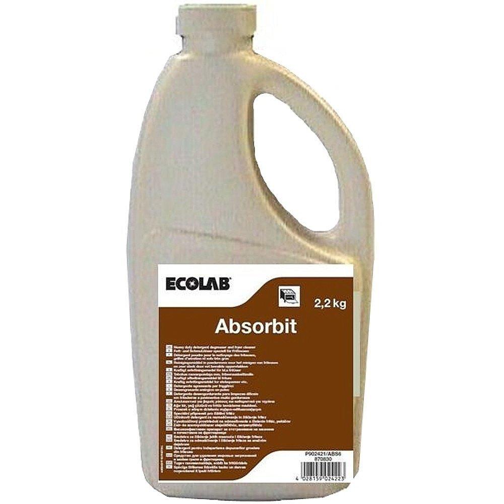 Ecolab Absorbit Ontvetter in poedervorm 6 x 2.2 kg