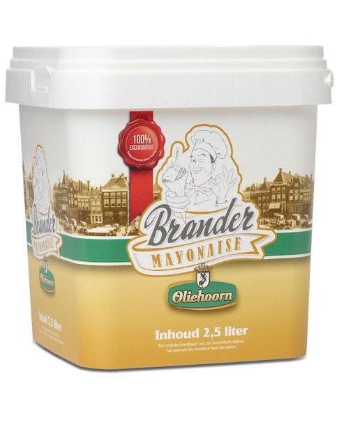 Oliehoorn | Brander Mayonaise | 2,5 liter