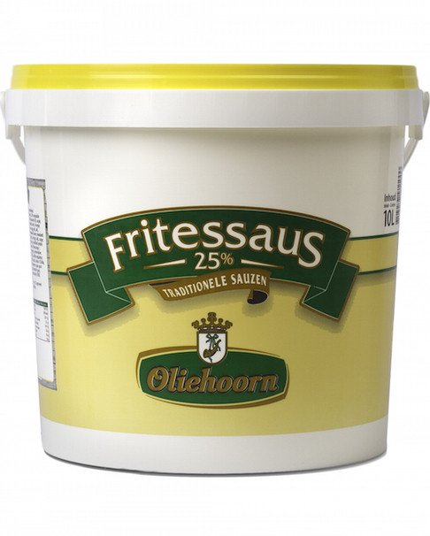 Oliehoorn | Fritessaus 25% | Emmer 10 liter
