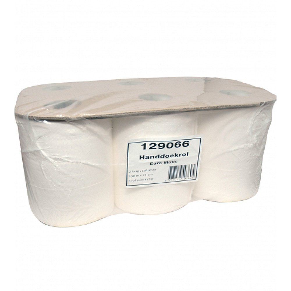 Handdoekrol Euro Matic cellulose