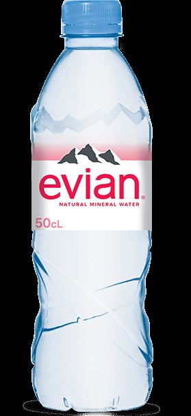 Evian | Mineraalwater | Petfles 24 x 0,5 liter