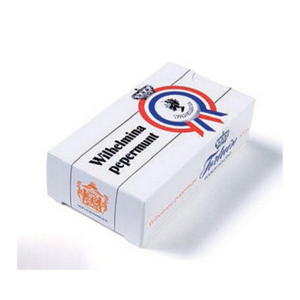 Fortuin Wilhelmina Pepermunt doosje, 100 gram à 12 stuks