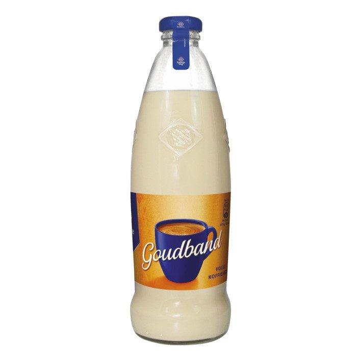 Friesche Vlag   Goudband   Koffiemelk   Fles 12 x 465 ml