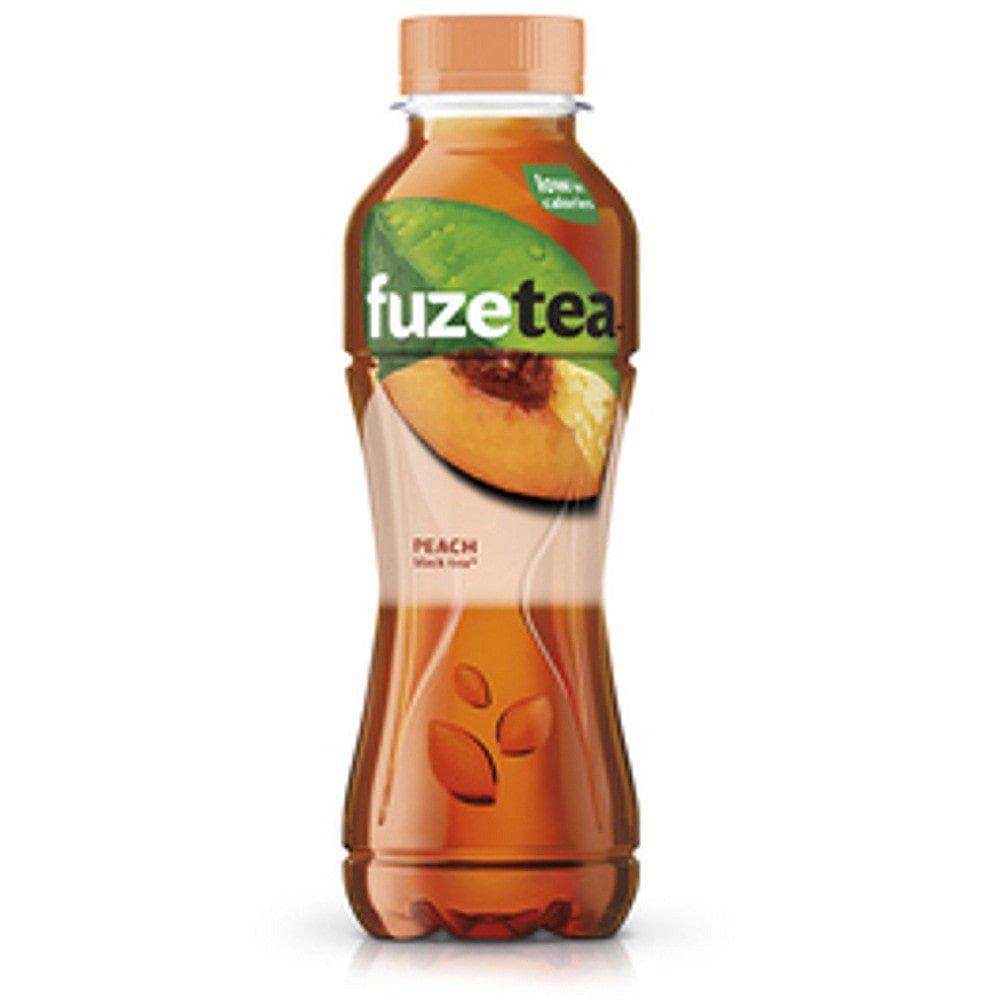 Fuze Tea Black Tea Peach | 12 x 0,4 liter