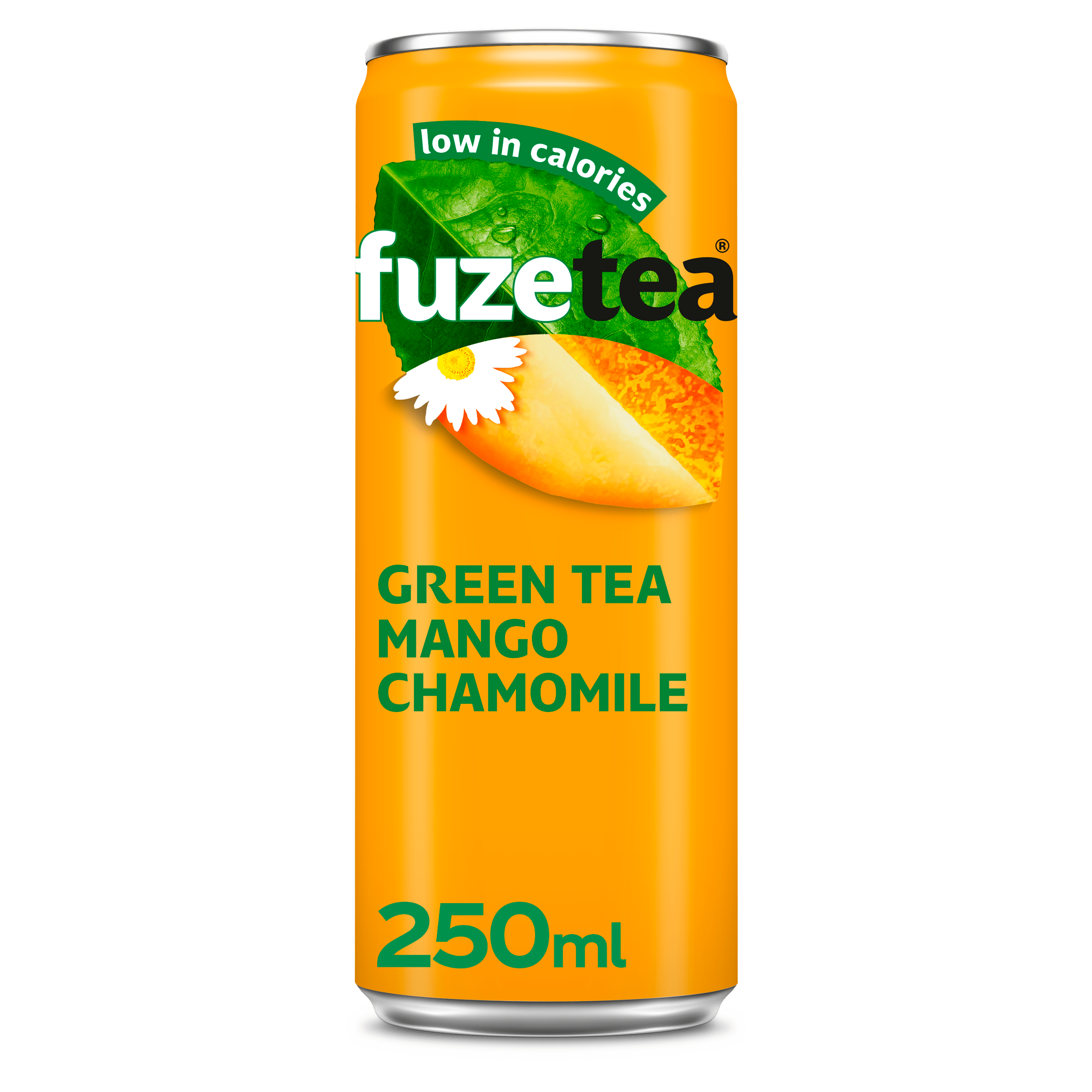 Fuze Tea Green Tea Mango Chamomile   Blik 24 x 25 cl