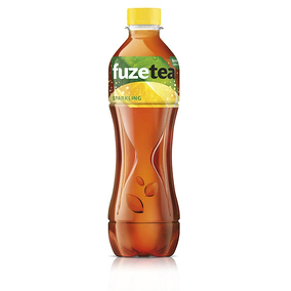 Fuze Tea Black Tea Sparkling | 12 x 0,4 liter