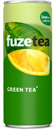 Fuze Tea Green Tea | Blik 24 x 25 cl