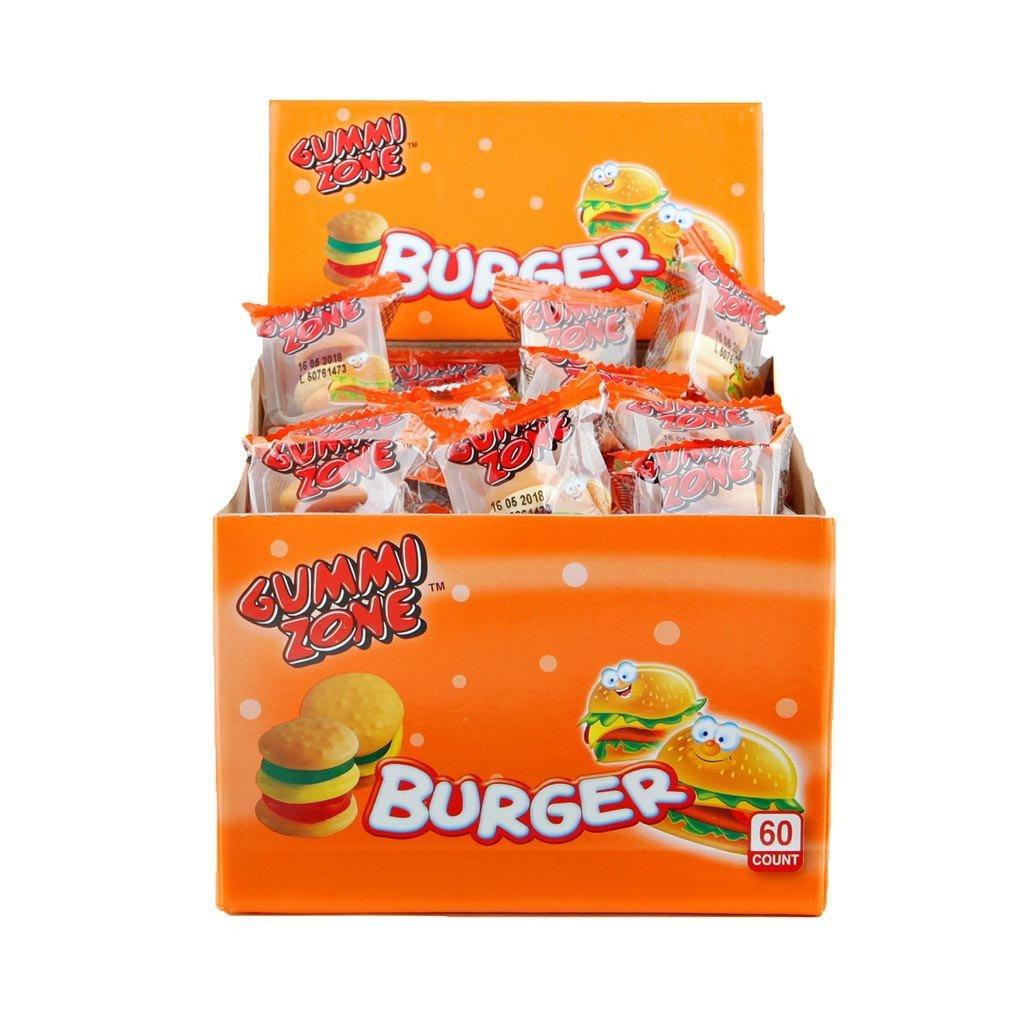Gummi Zone   Mini burgers   60 stuks