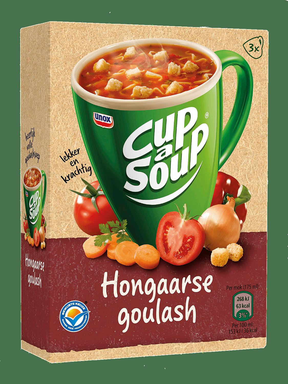 Unox Cup-a-Soup Hongaarse Goulash 175ml a 21 zakjes