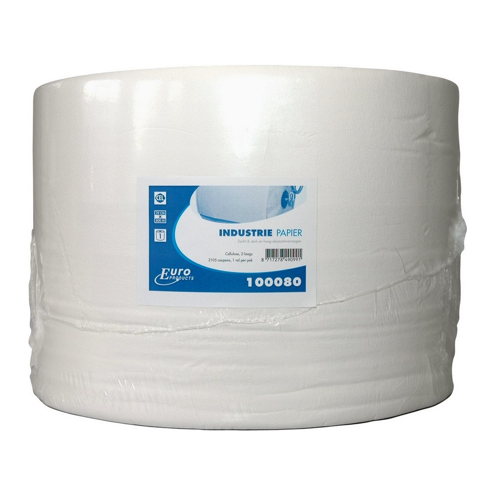 Euro Products | Industriepapier | Cellulose wit 2-laags | 800 meter