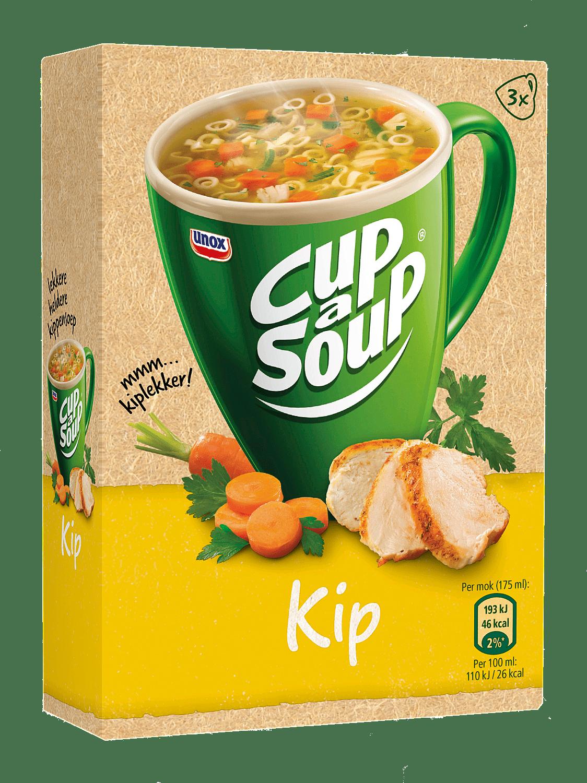 Unox Cup-a-Soup Kip, 175ml a 21 zakjes