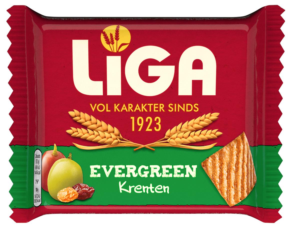 Liga | Evergreen Krenten | 24 stuks