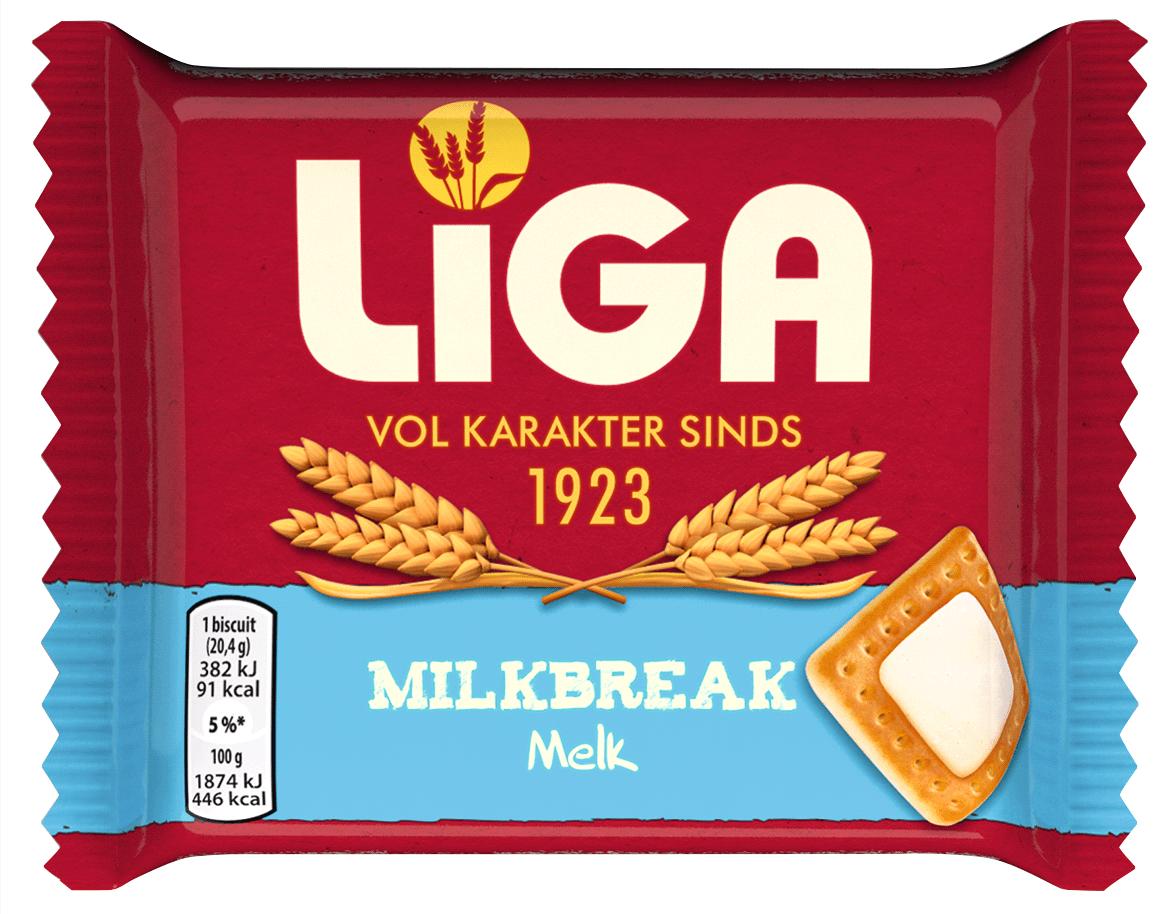 Liga | Milkbreak Melk | 24 stuks