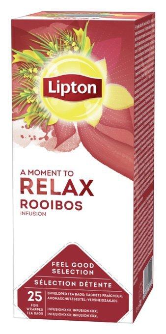 Lipton Thee Rooibos 6 x 25 zakjes