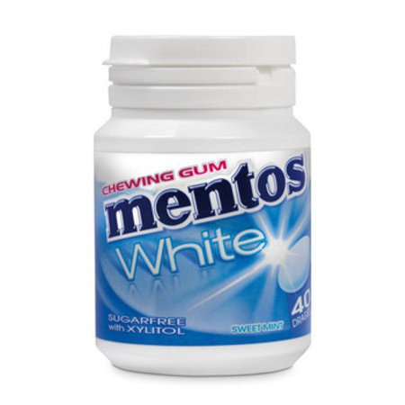 Mentos | White Sweet Mint | 6 potten