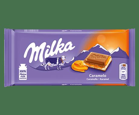 Milka   Caramelo   23 repen
