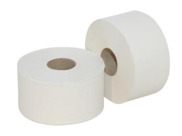 Euro Products | Mini Jumbo rol | Ecologisch Toiletpapier 2- laags | 12 x 180 meter