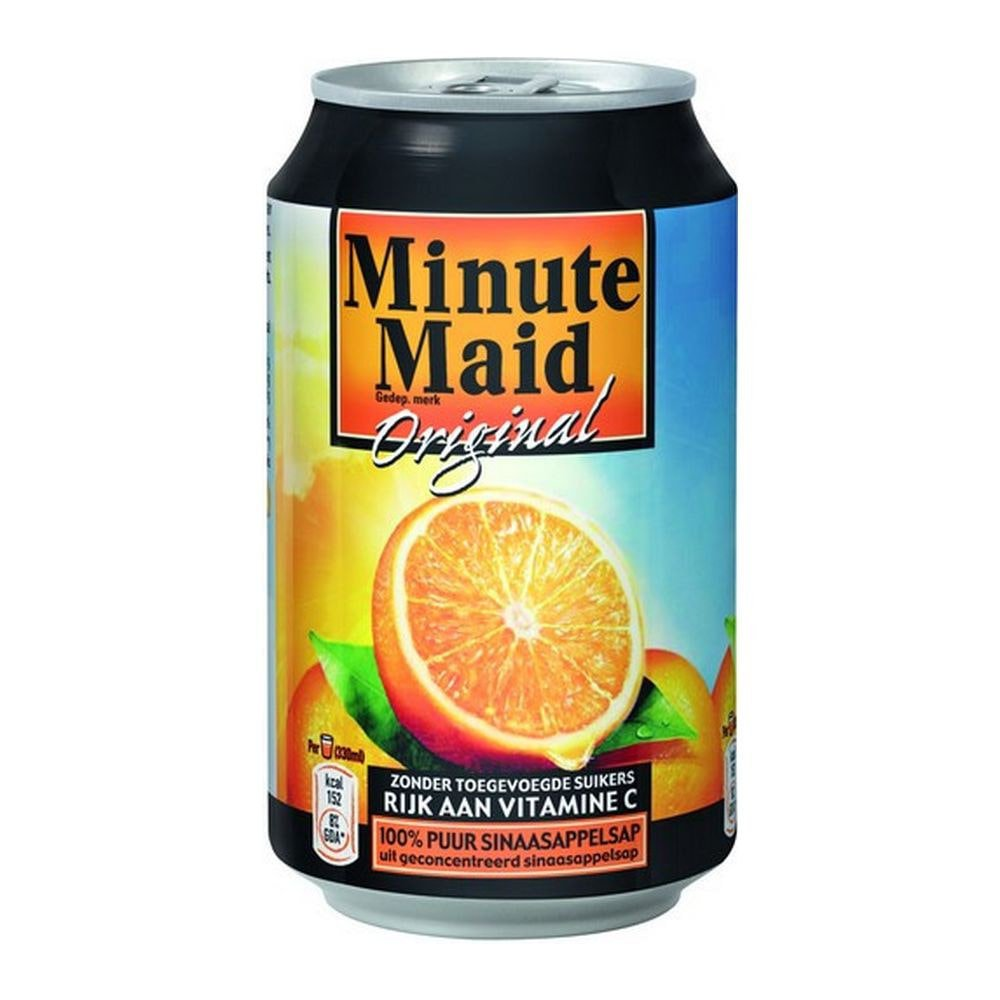 Minute Maid Sinaasappelsap | Blik 24 x 33 cl