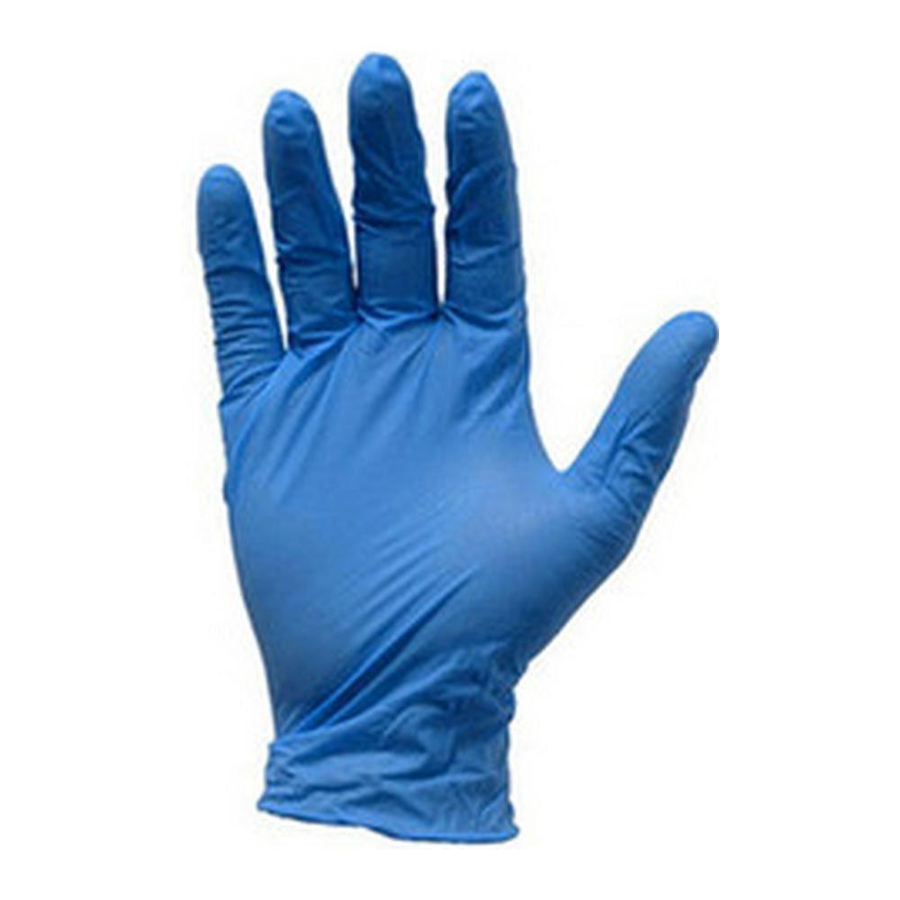Nitril handschoen blauw ongepoederd S 100 st