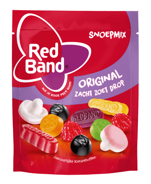 Red Band | Snoepmix Original | 10 x 220 gram