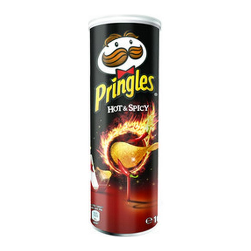 Pringles Hot & Spicy, 19 stuks