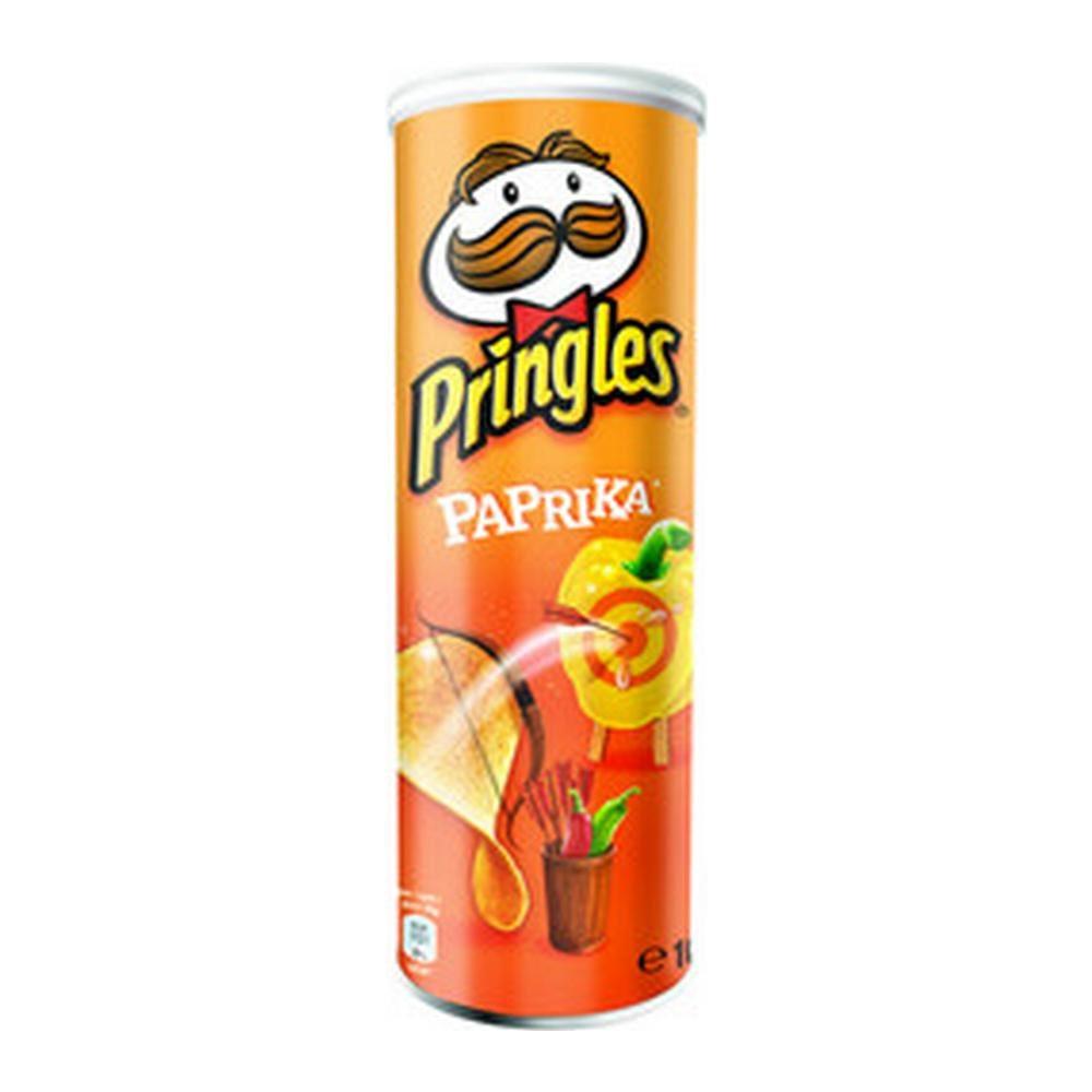 Pringles Paprika, 19 stuks
