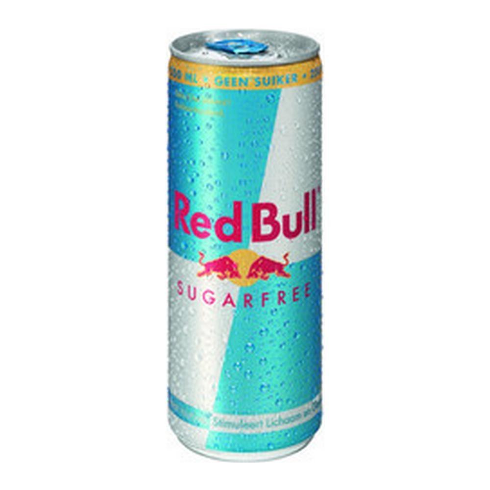 Red Bull Suikervrij | Blik 24 x 250 ml