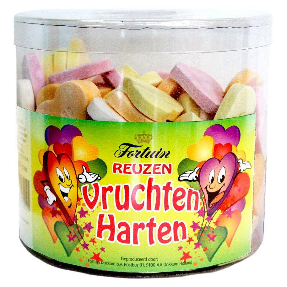 Fortuin | Reuzen Vruchtenharten | 120 stuks