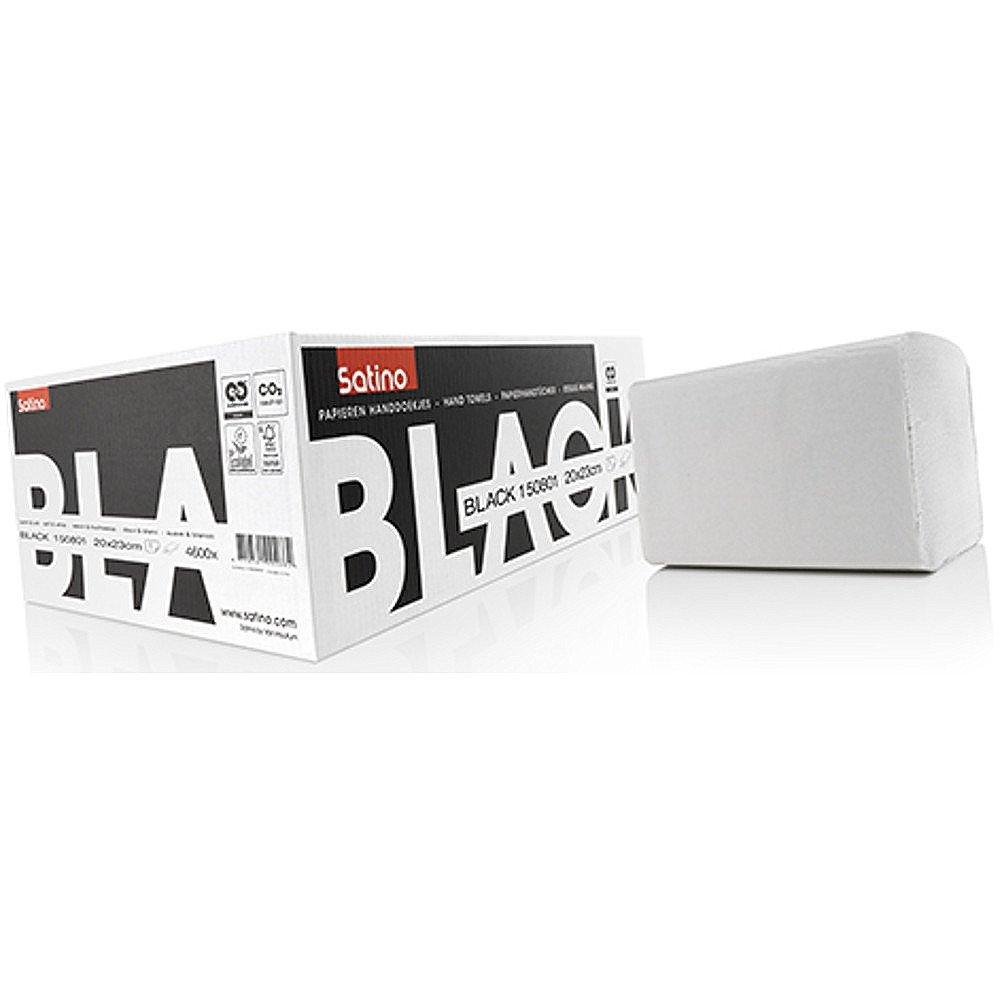 Satino Black Z-vouw handdoekjes 1-laags 20x23 cm 4600 stuks