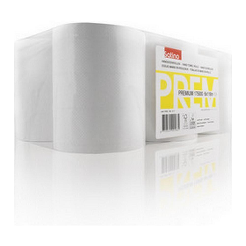 Satino premium handdoekrol 2-laags 6x116 m