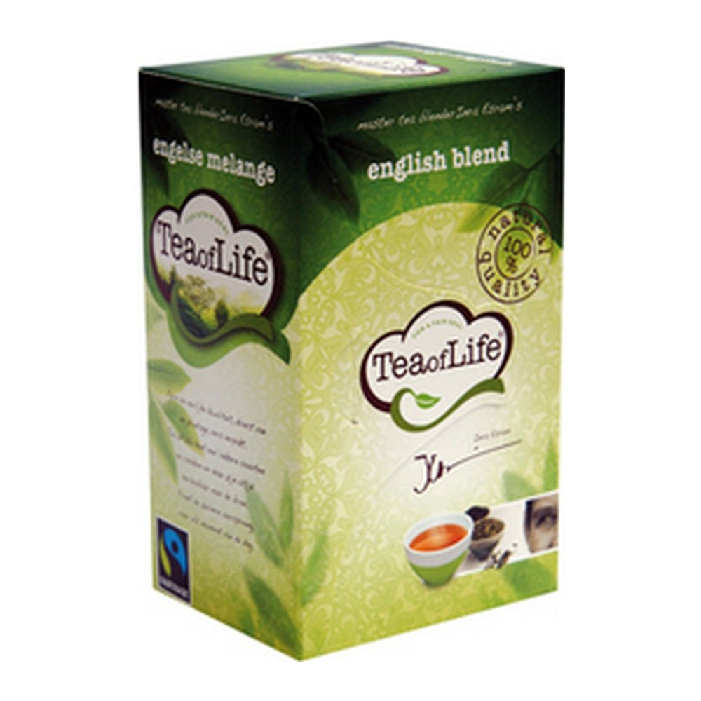 Tea of Life English Blend 80 zakjes