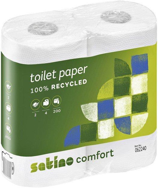 Satino | Premium toiletpapier 2-laags | 48 x 200 vel