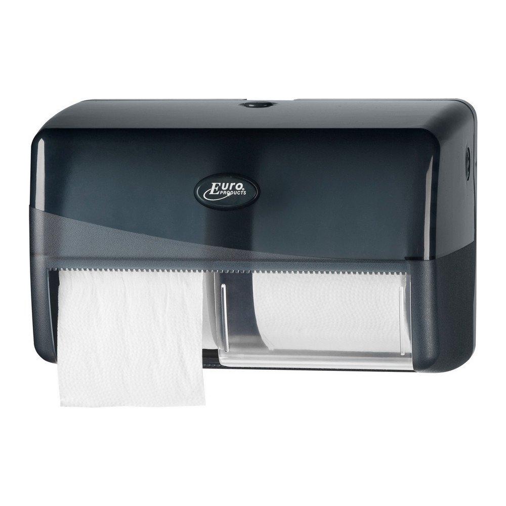 Toiletpapierdispenser voor Traditioneel en Compact zwart