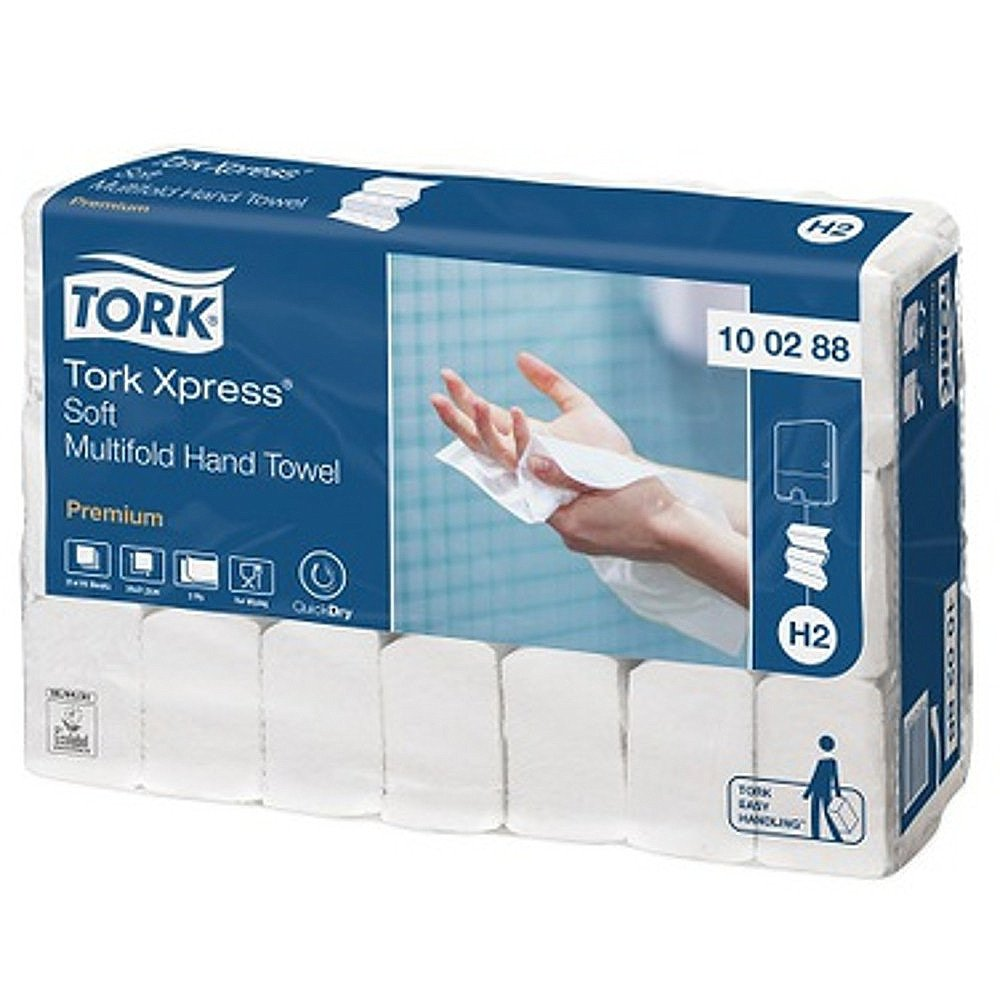 Tork | Xpress Soft | Multifold vouwhanddoekjes | H2