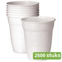 Douwe Egberts | Automatenbeker | Wit | 150 ml | 2500 stuks