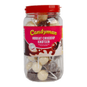 Candyman   Nougat Chocodip Knotsen   50 stuks