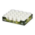 Bolsius   Relight transparant kaarsen   Navulling 20 stuks
