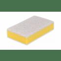 Wecoline | Schuurspons | Geel-wit | 10 stuks