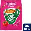 Cup-a-Soup | Automatensoep | Chinese tomaat | Zak 4 stuks
