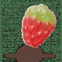 Astra Sweets | Bladaardbeien | Zak 3 kg