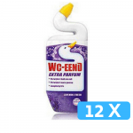 WC-eend toiletreiniger lavendel fresh 12 x 750 ml