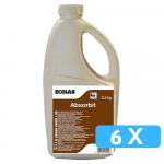 Ecolab | Absorbit | Ontvetter in poedervorm | Fles 6 x 2,2 kg
