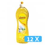 Zone afwasmiddel citroen fles 12 x 1 liter