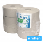 Euro Products | Toiletpapier 1-laags | Maxi jumbo recycled | 6x 525 meter