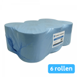 4UStore | Midirol | 1-laags | Recycled | Blauw | 6 x 300 meter