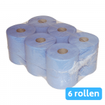 Midi rol 1-laags blauw 6x300mtr 20cm
