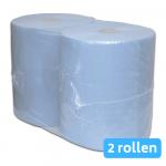 Euro Products | Industriepapier | Blauw verlijmd 2-laags | 2 x 380 meter