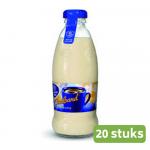 Friesche Vlag Goudband koffiemelk fles 186 ml 12 flessen