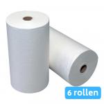 Euro Products | Handdoekrol | Nonwoven | Wit | 23 cm | 6 x 40 meter